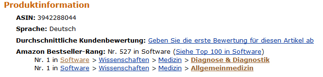 Screenshot Augen 8 bei Amazon
